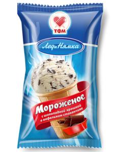 гибкая упаковка мороженое